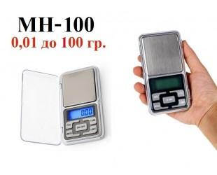 Карманные электронные весы MH-100  0,01-100 грамм
