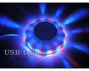 Диско-лампа Огонёк  с LED кольцом