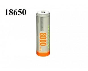 Аккумулятор 18650 Hangliang 4.2V 8000 мАч для светодиодных фонарей