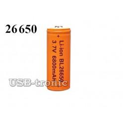 Аккумулятор BL 26650 3.7V 6800 мАч