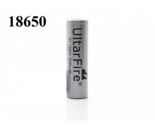 Литий-ионный аккумулятор 18650 UltraFire 3800 mAh  для ручных и налобных фонарей