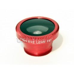 Набор объективов для телефона - красный