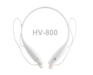 Беспроводные наушники с bluetooth HV-800 белые