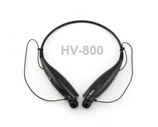 Беспроводные наушники с bluetooth HV-800 - черные